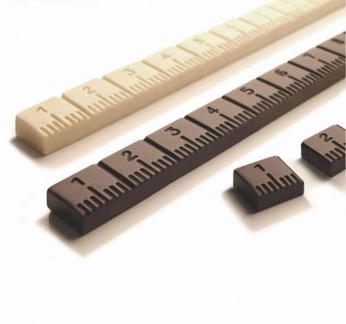 &#8220;Golosimetro&#8221;<br/>barretta di cioccolato<br/>prototipo (2002)