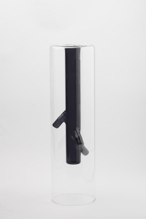 black root vase1  BASILE ARTECO