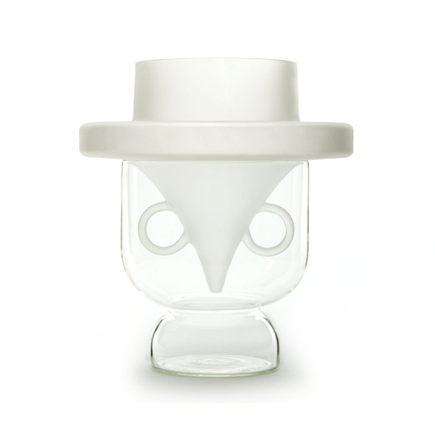 &#8220;Vasi Viso&#8221;<br/>vasi in vetro borosilicato<br/>Edizioni Secondome