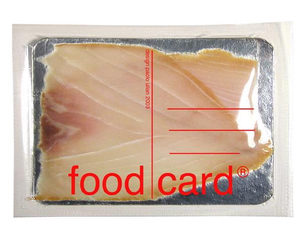 &#8220;FOOD CARD&#8221;<br/>cartolina di cibo<br/>autoproduzione