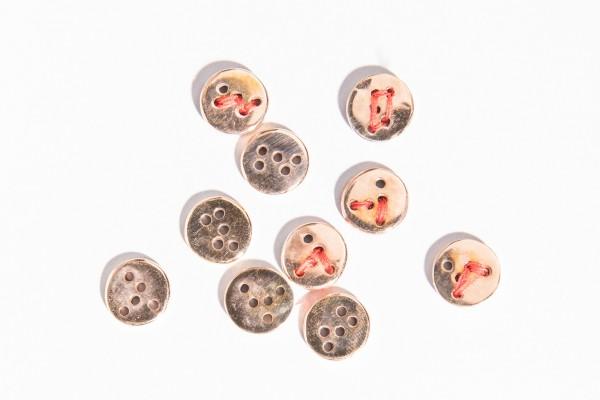 &#8220;Bottoni&#8221; bronzo TDM<br/>bottoni a foratura irregolare<br/>EDIZIONE BASILE ARTECO (2018)